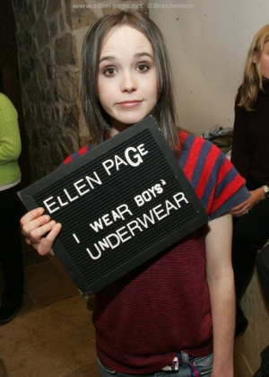 Ellen Pages unstardom stardom; image courtesy of girlfriendisahomo.com